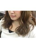 ヘアーアンドメイク ポッシュ 新宿店(HAIR&MAKE POSH)ベージュ系カラー