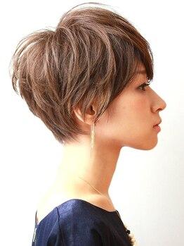 レンジシキチジョウジ (RENJISHI KICHIJOJI)の写真/お洒落もヘアスタイルも妥協したくない、大人女性に人気☆周りと差をつけるショートスタイルは【RENJISHI】
