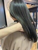 ピア(Pia)pia2020[斉藤指名]髪質改善 縮毛矯正 オリーブグレージュ