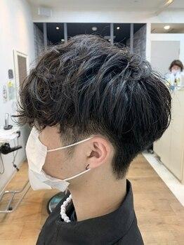サロンドアンアリー(Salon de an Ally)の写真/[六町/1分]男性にもオススメの頭皮環境を整えるヘッドスパで、頭皮の汚れを落としスッキリとした清潔感を☆