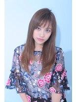 ジーナギンザ(Zina GINZA)☆Zina☆透けバング×無造作ストレート