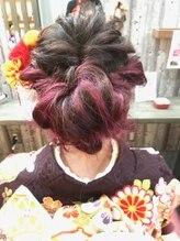ヘアリゾート ロア(Hair Resort LoRE)成人式スタイル
