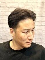 グレイスフル バーバープラチナム 六本木店(Graceful Barber platinum)【理容室】40代 50代 ビジネススタイル センターパート
