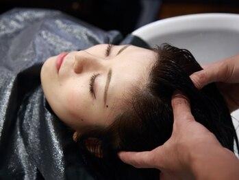 オークス(Ark's)の写真/お客様のご希望、髪質に合わせてご提案◎毛穴に詰まった皮脂もしっかり取り除いて健やかな髪へと導きます☆