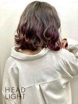 フローレス バイ ヘッドライト 三鷹店(hair flores by HEADLIGHT)透け感たっぷりなミルクティー×シースルーカラー