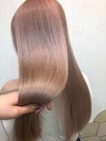 ナナナパレナ 心斎橋店(nanana parena)光に透けるラベンダーブラウン♪髪質改善縮毛矯正ストレート
