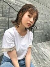 ヘアサロンエム 渋谷店(HAIR SALON M)イメチェン☆インナーカラー☆フォギーベージュ