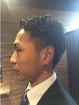 カシュカシュヘア(Cache-Cache hair)の写真/男性スタイリストならではのスタイルをご提供!カチッとしたビジネスシーン~ラフなプライベートシーンまで