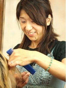 ヘアーワークスクリエイションの写真/全ての髪と肌にやさしさを…。「もっと素敵に」を叶える為に女性ならではの目線でアドバイス★