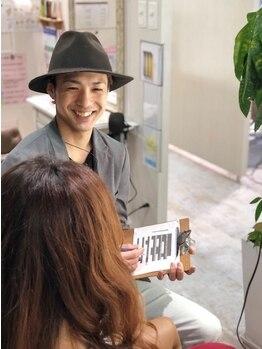 ハナビ(hanabi)の写真/『こんなに寄り添ってくれるサロン初めて!!』口コミで大好評♪髪質や骨格を見極め似合うヘアをご提案☆