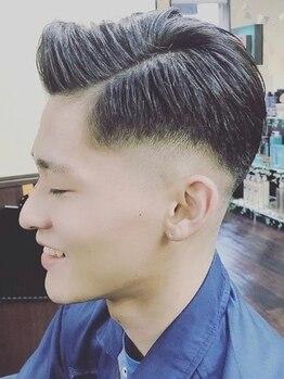 ヘアードレスアップラグゼ(Hair Dressup LUXE)の写真/【お洒落な男性はヘアスタイルでキマル◎】カジュアル~ビジネスまで幅広いstyleをご提供♪