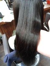 艶髪髪質改善ケラチンカラーいつものヘアカラーをダメージレスに。(上野LABOラボ髪質改善美容室)