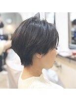 エトネ ヘアーサロン 仙台駅前(eTONe hair salon)【eTONe】30代にオススメのくびれショート