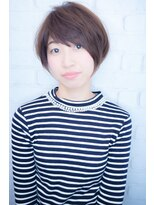 【morio池袋】大人かわいいとろみモード小顔マッシュショート