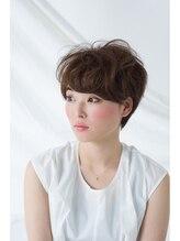 ヘアーアンドメイク アンジュ 中野店(Hair&Make ange)2WAYショートスタイル