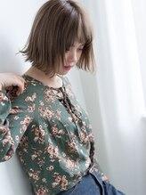 レイ(ray.)バサッと感×セミウェット☆今っぽベイビーボブ