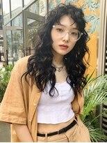 シャチュー(SHACHU)【MORIYOSHI】トレンドパーマ×フェイクブラック☆