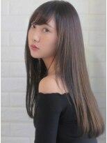 キース ヘアアンドメイク(kith. hair&make)恵比寿kith.本田×ナチュラルロング