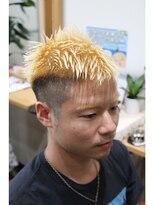 ヘアーサロン リンカ(Hair Salon Rinka)☆目立つに違いない☆刈上げスタイルにツートンカラー