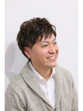 ハグ 仙北店(Hair&Make Hug)おしゃれメンズニュアンス艶パーマ