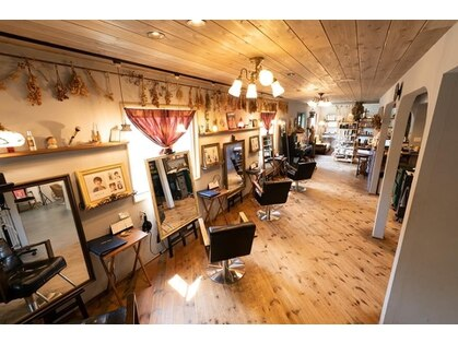 ヘアー アトリエ アオイトリ(hair atelier aoitori)の写真