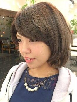 ブッソラヘアー(Bussola hair)の写真/優しく丁寧なカウンセリングが魅力☆話やすい雰囲気にあなたらしい可愛さ・綺麗さが自然に引き出される♪