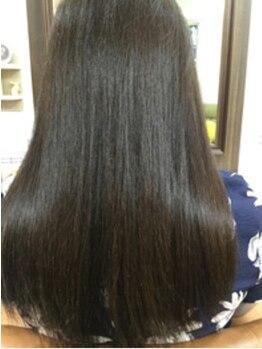 コズリー(cosily)の写真/≪話題のoggiotto取扱店。≫うるツヤでつい触りたくなる!!髪を徹底的にいたわり美しい髪をキープ♪