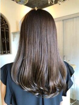 メロウ(mellow)の写真/髪が美しい女性は魅力的☆天然成分のオーガニックカラーであなたの髪を守ります!いつまでも綺麗な髪を…。