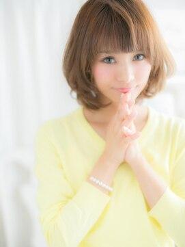 モッズヘア 上尾西口店(mod's hair)■mod's上尾15-3★■ひし形シルエット…くせ毛風前下がりボブ
