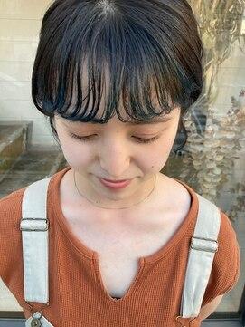 シーク(seek)【seek菜月】blue bang short【長野 松本】
