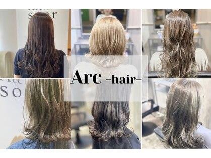 アークヘアーソア 和歌山市駅店(Arc hair soar)の写真