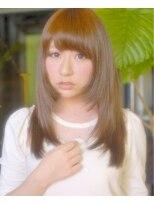 This collection LONG☆ツヤツヤのストレートは鉄板で可愛い☆