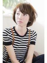 髪質改善ヘアエステ ブリスク(Brisk)やわらか透明感☆可愛すぎないカジュアルボブ