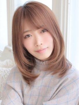 アグ ヘアー ドレス 喜久田店(Agu hair dress)《Agu hair》透明感ナチュラルミディ