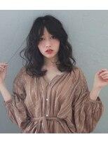 ヘアー フレイス メイク(Hair Frais Make)フェザーロング×レトロウェーブ【フレイス 横浜】