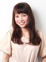 """saiko ゆるふわ小顔セミロング"""