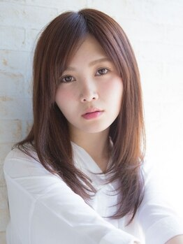 カノア ヘアー ラウンジ(Kanoa hair lounge)の写真/カット+オーガニック縮毛矯正¥7100★高級薬剤を惜しまずたっぷりと使用し、まとまる潤サラ髪に♪