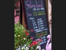 ローランド(Rowland)の雰囲気(立て看板と一緒にフラミンゴもお待ちしております♪)