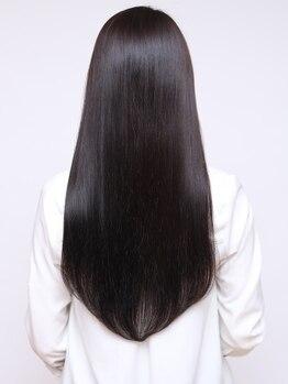 ゼル 大森西口(ZELE)の写真/髪が広がってしまう方、ぺたんこになってしまう方…お悩みにや髪質に合わせたご提案でサラツヤな髪に♪