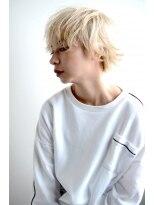 white beige×【short】10