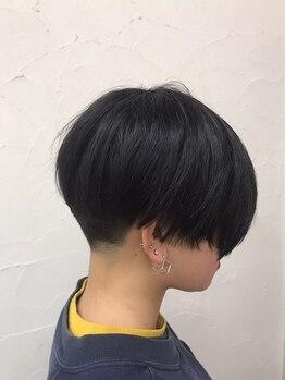 """美容室 ナガタ(NAGATA)の写真/技術に差の出るショートヘアは""""NAGATA""""にお任せ下さい!どこから見ても美しいシルエットに♪"""