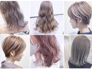 アンスールミミ 草津店(Ansur mimi)の写真/当日予約OK★人気のハイライトやインナーカラーから話題の髪質改善カラーやオーガニックカラーも取り揃え◎