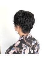 ヘアーアイストゥーレ(HAIR ICI TRE)ショートパーマ ベリーショート マッシュパーマ 担当渡辺