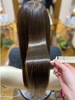 ヘアー リラクゼーション アンヴィ(Hair Relaxation anvi)の写真/話題の最高級水素トリートメントで美髪になるお手伝いをいたします◎