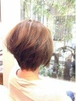 ガーデン ヘアー ワーク(garden hair work)後ろ髪姿もカッコ良く!品良くね☆
