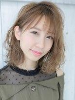 アグ ヘアー ルシア 浜松初生町店(Agu hair lucia)ウェット質感×ほぐしウェーブミディ