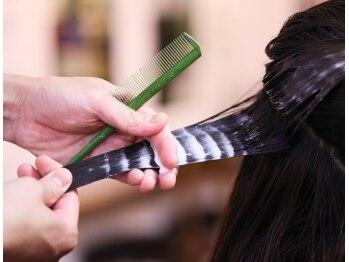 髪質改善ヘアエステサロン メルシー(Merci)の写真/イキイキした美髪へ☆天然栄養成分を1人1人髪質に合わせて調合する《オーダーメイドトリートメント》