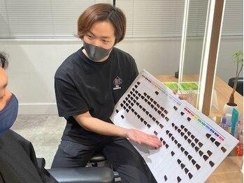モッズ ヘア 上大岡店(mod's hair)の写真/【マンツーマンで応対】専属のスタイリストが全てのサービスを責任持ってご提供いたします。