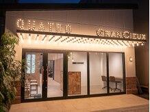 クアトロ 水戸店(QUATRO)の雰囲気(大きくて目立つ、明るい看板。水戸駅バス4分京成百貨店前)