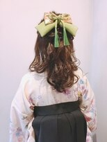 卒業式 袴 振袖 浴衣 ヘアアレンジ